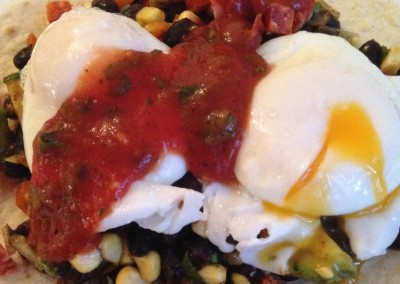 Poached Egg Huevos Rancheros