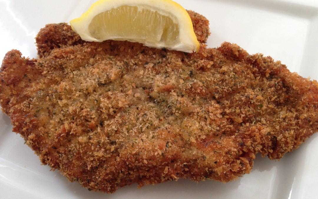 Dinner Ideas: Herbed Chicken Schnitzel