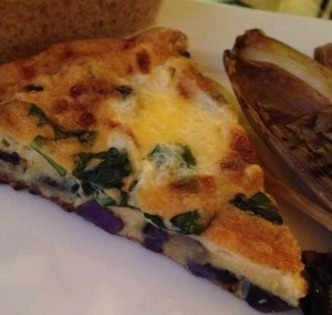 Purple Potato Frittata – An Easy Dinner