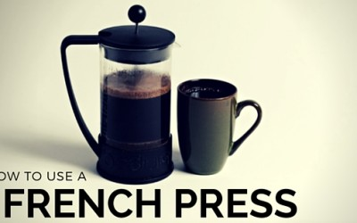 Kitchen Lessons: How to Use a French Press