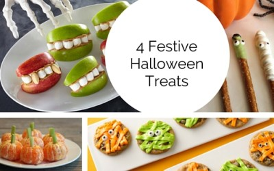 4 (Pinterest Inspired) Halloween Treats For The Neighborhood Kids