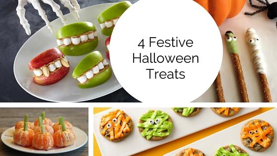 4 pinterest inspired halloween treats for the neighborhood kids