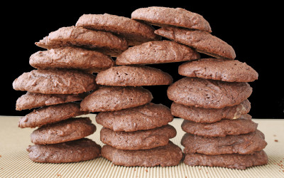 Chocolate Mocha Cookies From Scratch