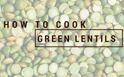 Pantry Raid: How to Cook Green Lentils
