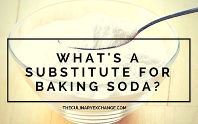 What's a Baking Soda Substitute?