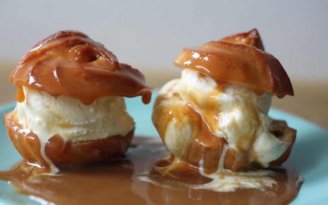 Easy Desserts – Profiteroles, Cream Puffs and Choux A'la Normande