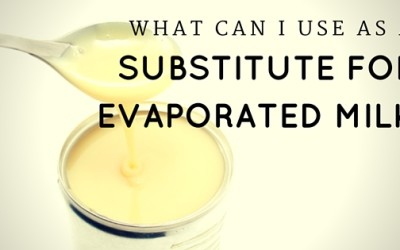 3 Options for an Evaporated Milk Substitute
