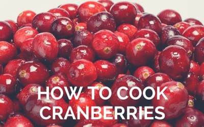 Pantry Raid: How to Cook Cranberries