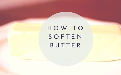 Here's How to Soften Butter For Cooking