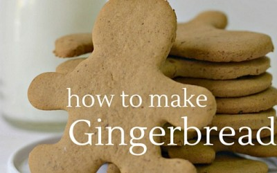Pantry Raid: How to Make Gingerbread