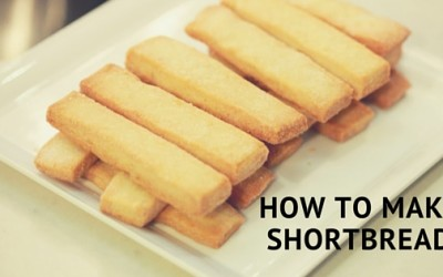 Pantry Raid: How to Make Shortbread