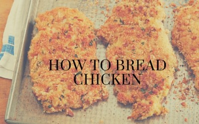 Pantry Raid: How to Bread Chicken