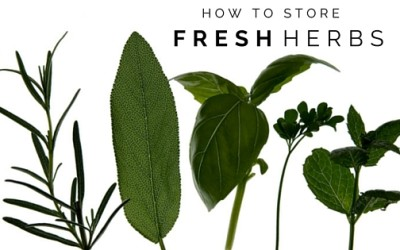 How to Store Fresh Herbs So They Last Longer