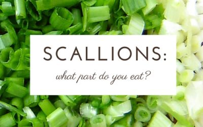 What Parts of the Scallion Can You Eat?