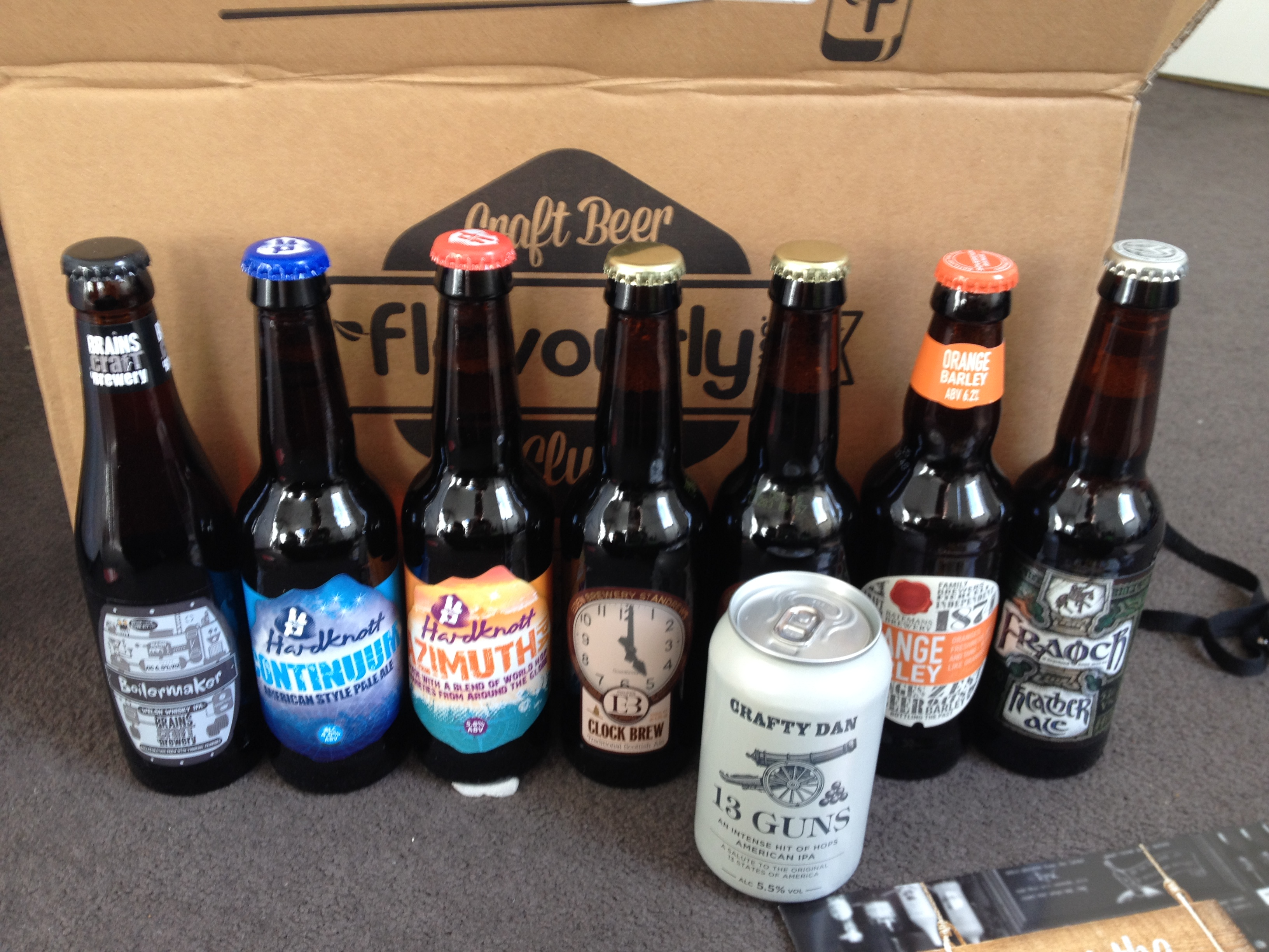 7 father 39 s day ideas for foodie dads for Best craft beer club