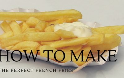 Pantry Raid: How to Make French Fries at Home