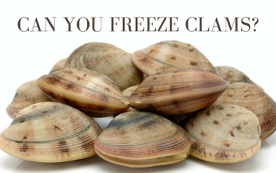 Can You Freeze Clams?