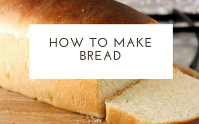 Pantry Raid: How to Make Bread