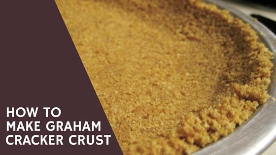 Pantry Raid: How to Make a Graham Cracker Crust