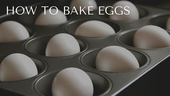 Pantry Raid: How to Bake Eggs