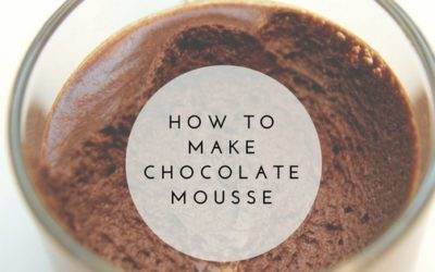 Pantry Raid: How to Make Chocolate Mousse
