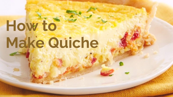 Pantry Raid: How to Make Quiche
