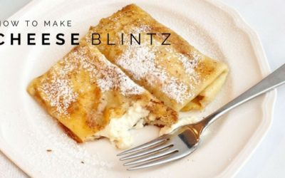 Pantry Raid: How to Make a Cheese Blintz