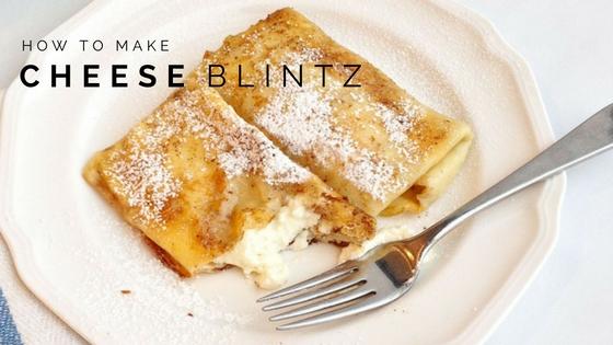 Pantry Raid: How to Make a Cheese Blintz