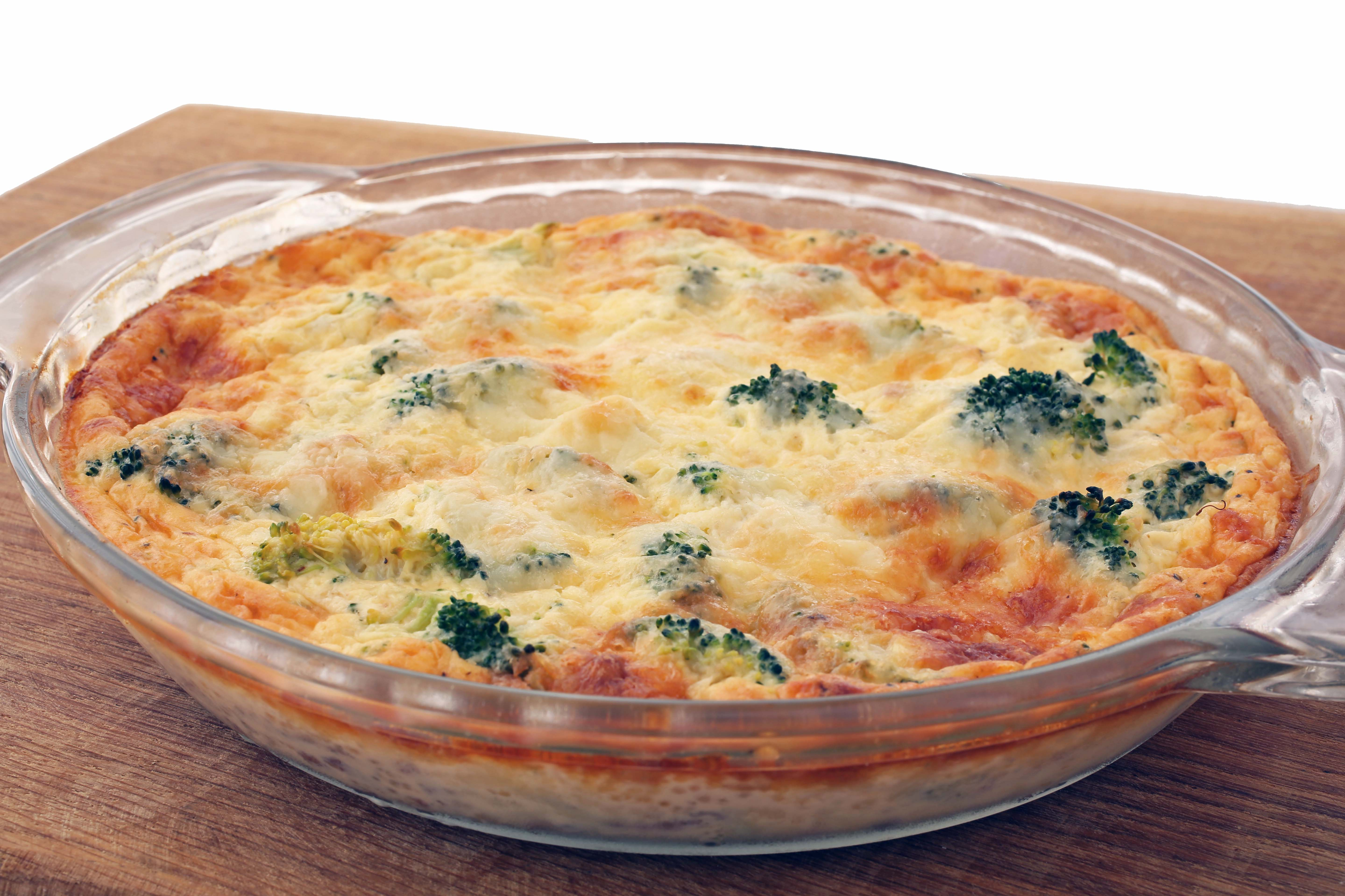 Crustless Quiche, Frittata, Eggs Recipe — Dishmaps