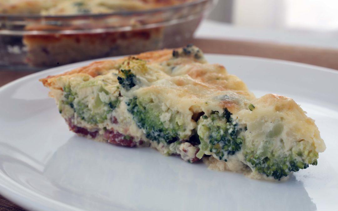 Crustless Quiche – Not Scrambled Egg Pie