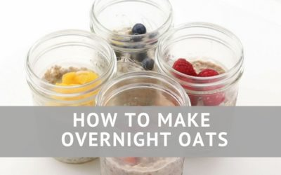 Pantry Raid: How to Make Overnight Oats