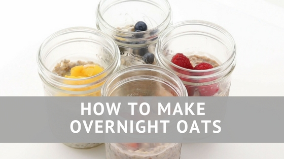 Pantry Raid: How to Make Overnight Oats