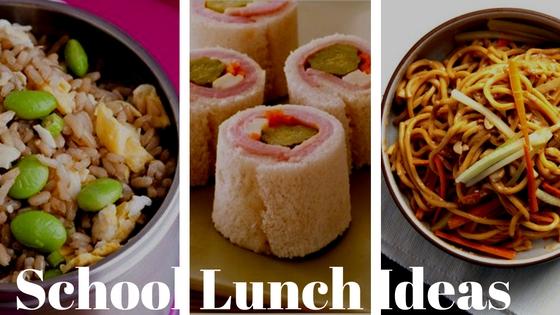 8 Great School Lunch Ideas