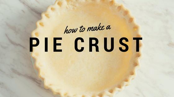 Pantry Raid: How to Make Pie Crust