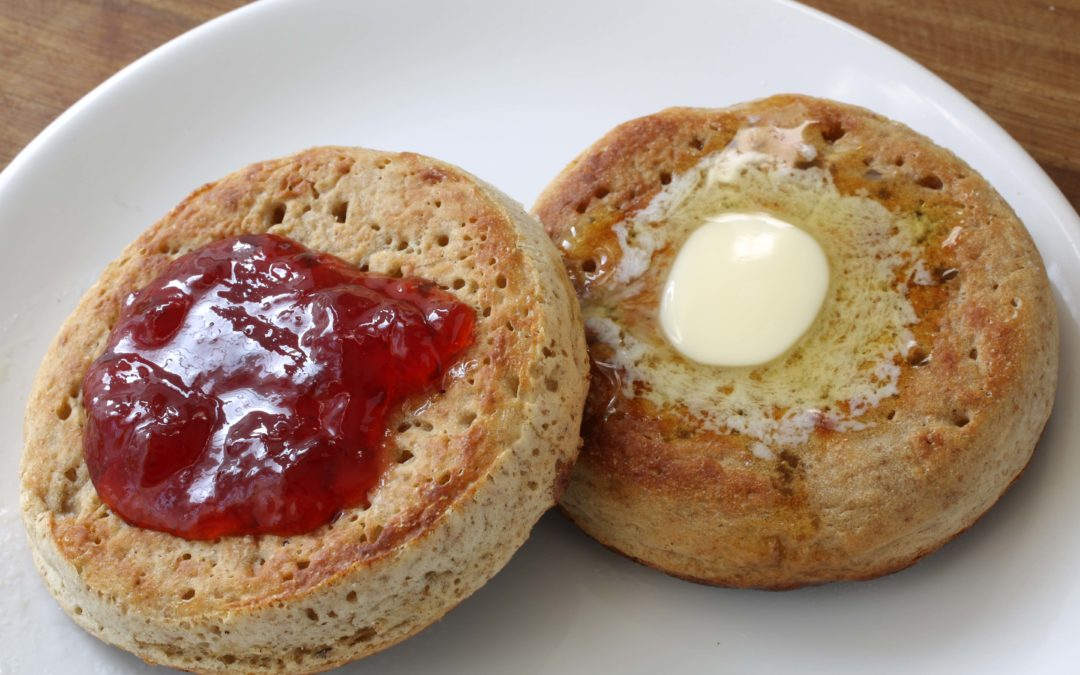 Crumpets – Deliciously Perfect For Butter & Jam