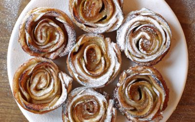 Apple Roses For Christmas Brunch