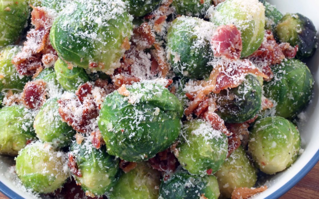 How To Make Brussels Sprouts With Pecorino and Pancetta