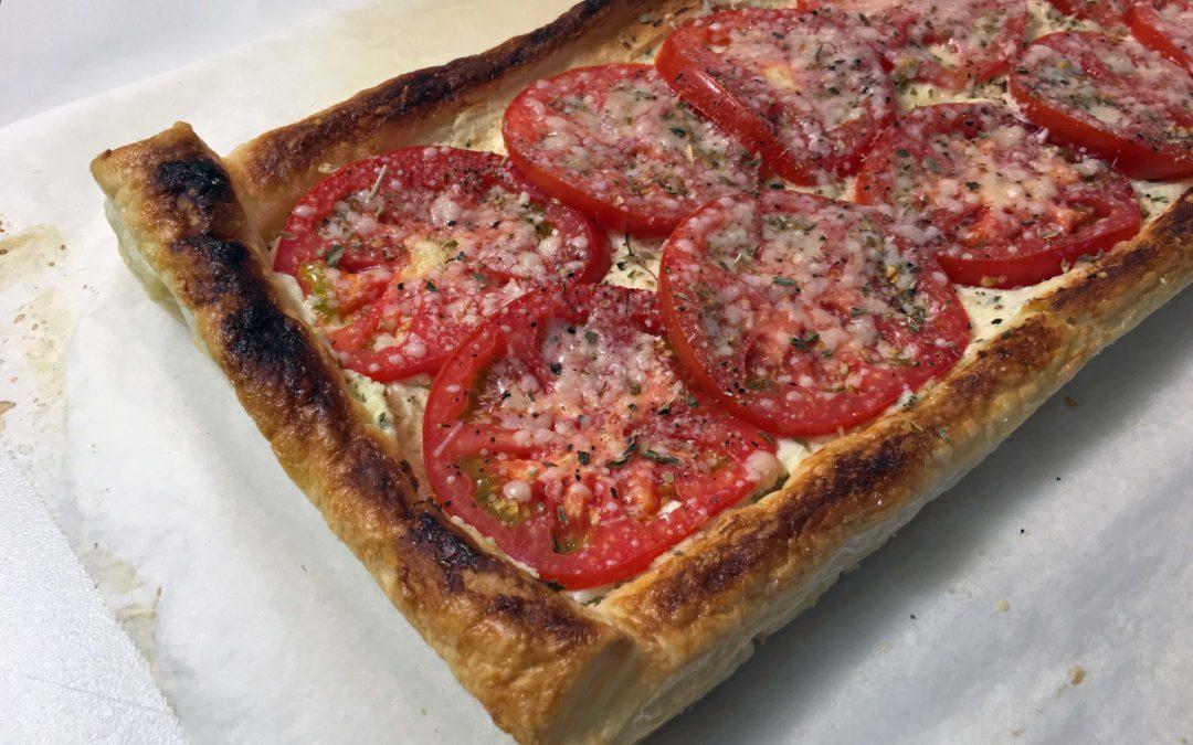 Christmas Brunch: Tomato Tart