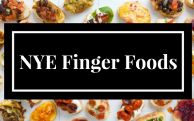 Simple, but Elegant New Years Eve Finger Foods