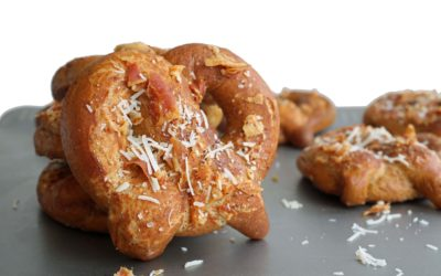 How To Make Pretzels With Pecorino and Pancetta