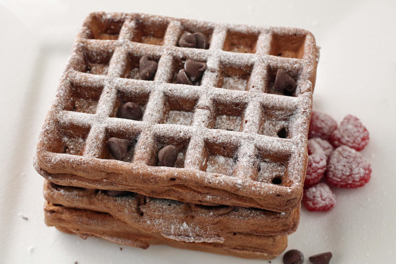 easy chocolate waffle recipe