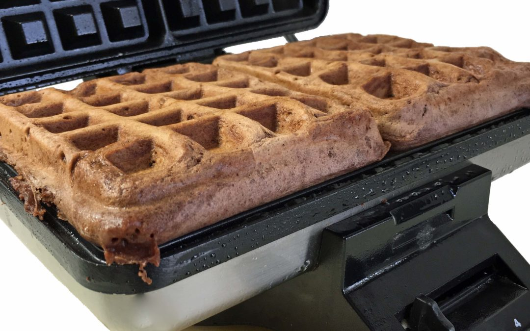 Easy Chocolate Waffles Recipe