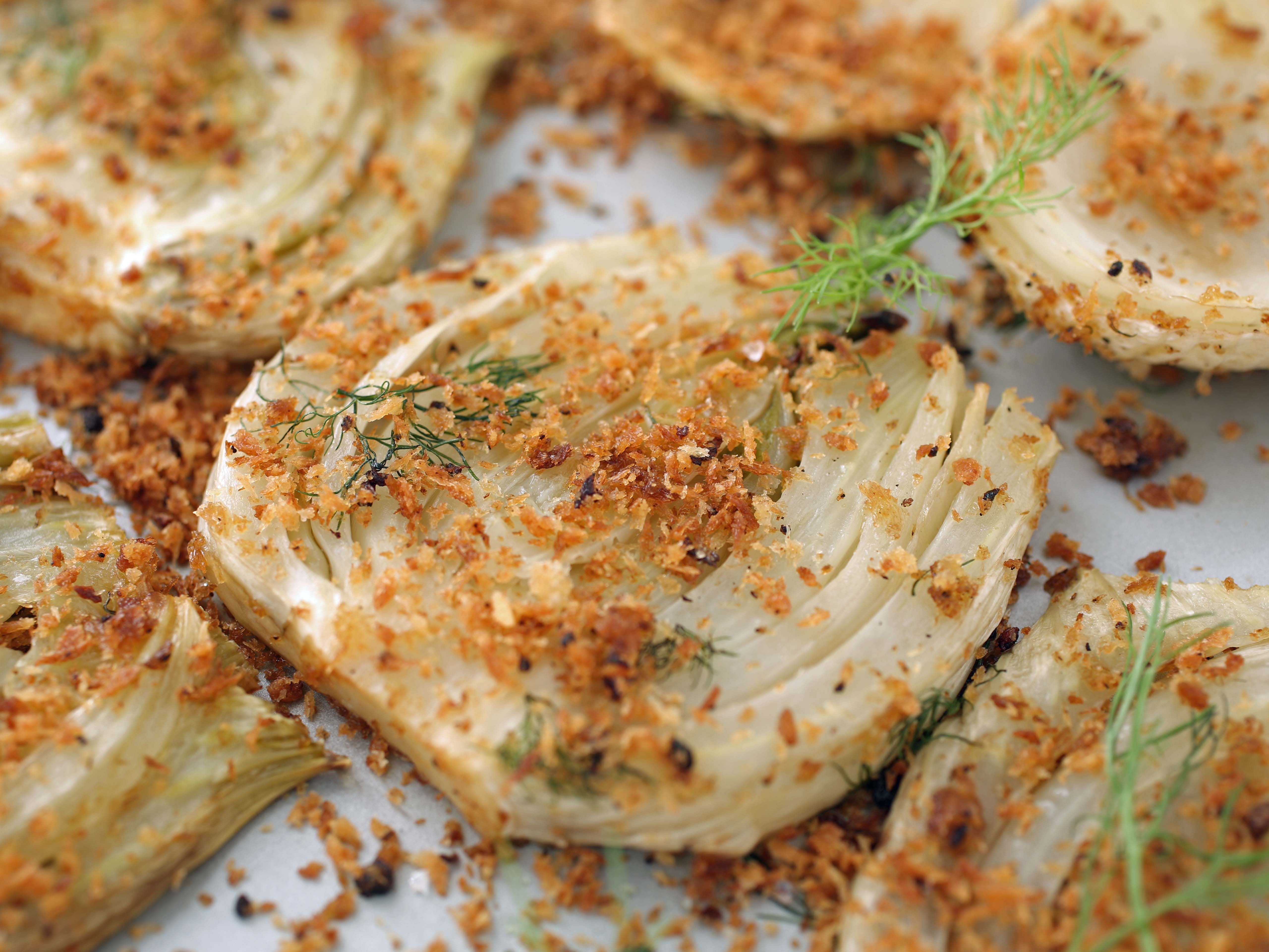 how to roast fennel