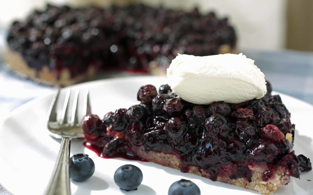 How To Make Blueberry Tart – An Easy Blueberry Tart Recipe