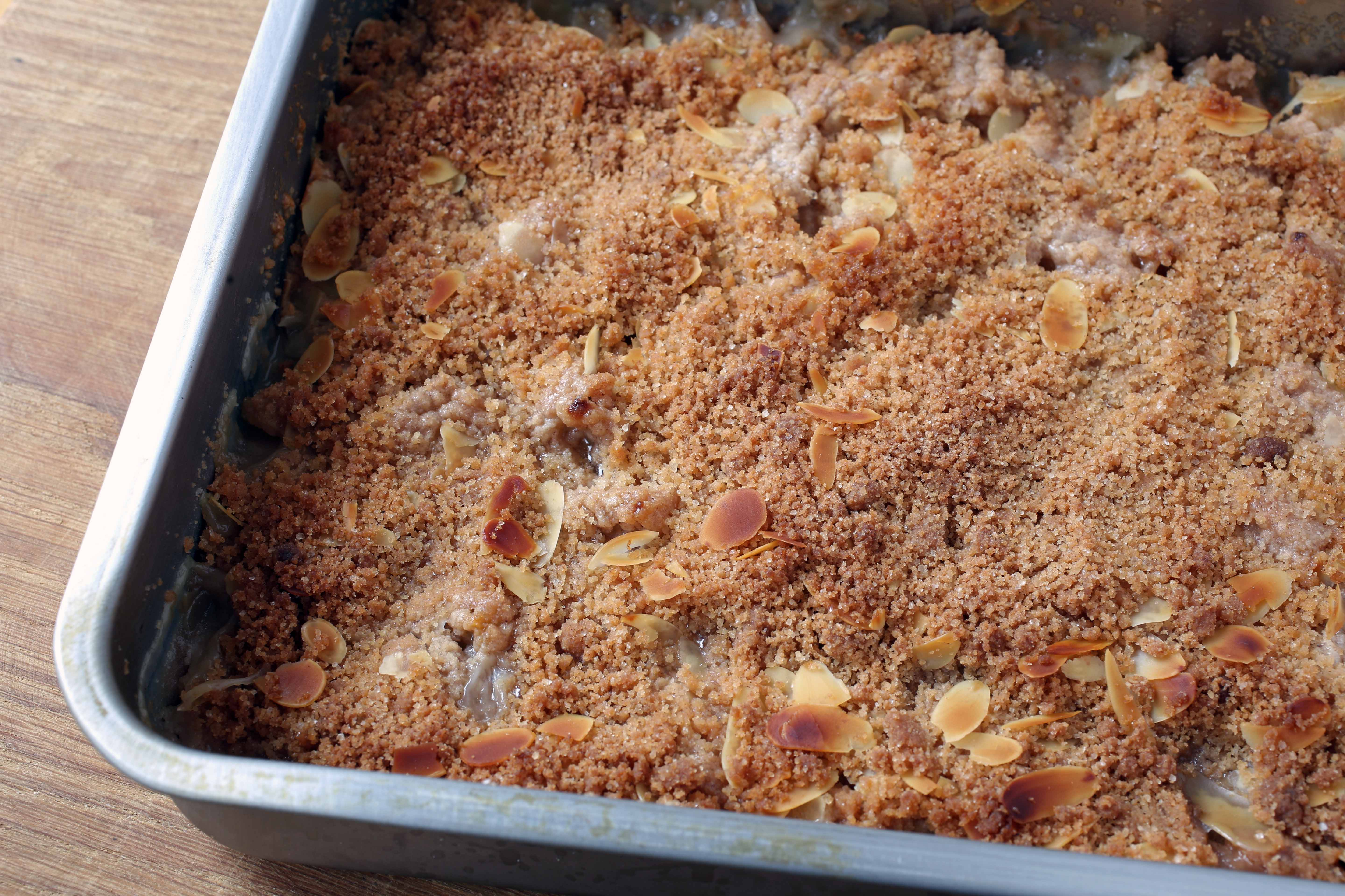 how to make a pear crisp