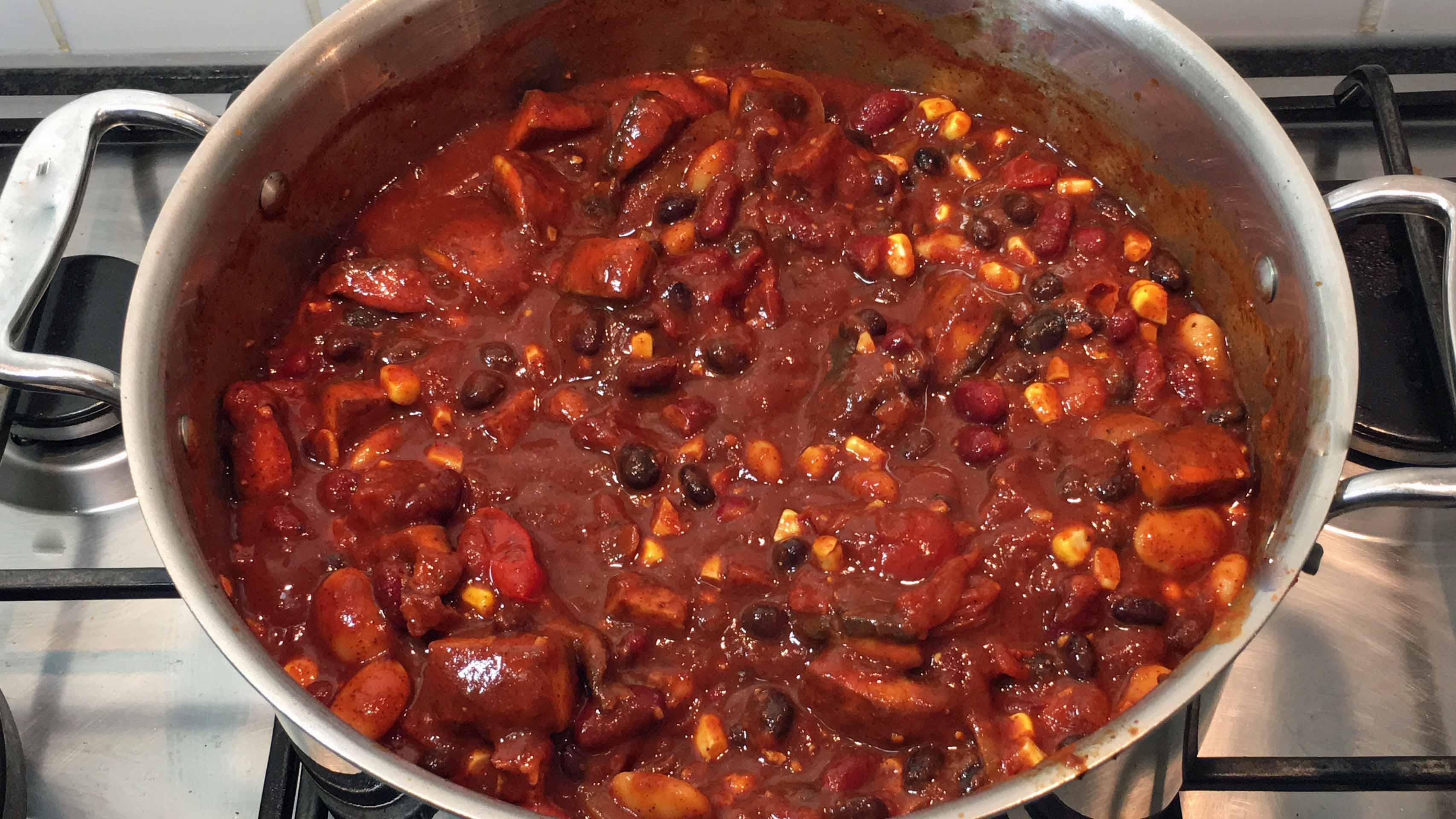 How To Make Vegetarian Chili