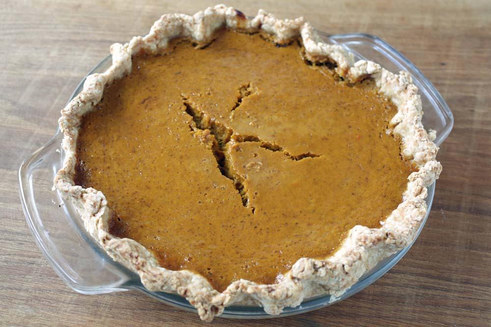 how to make pumpkin pie with fresh pumpkin
